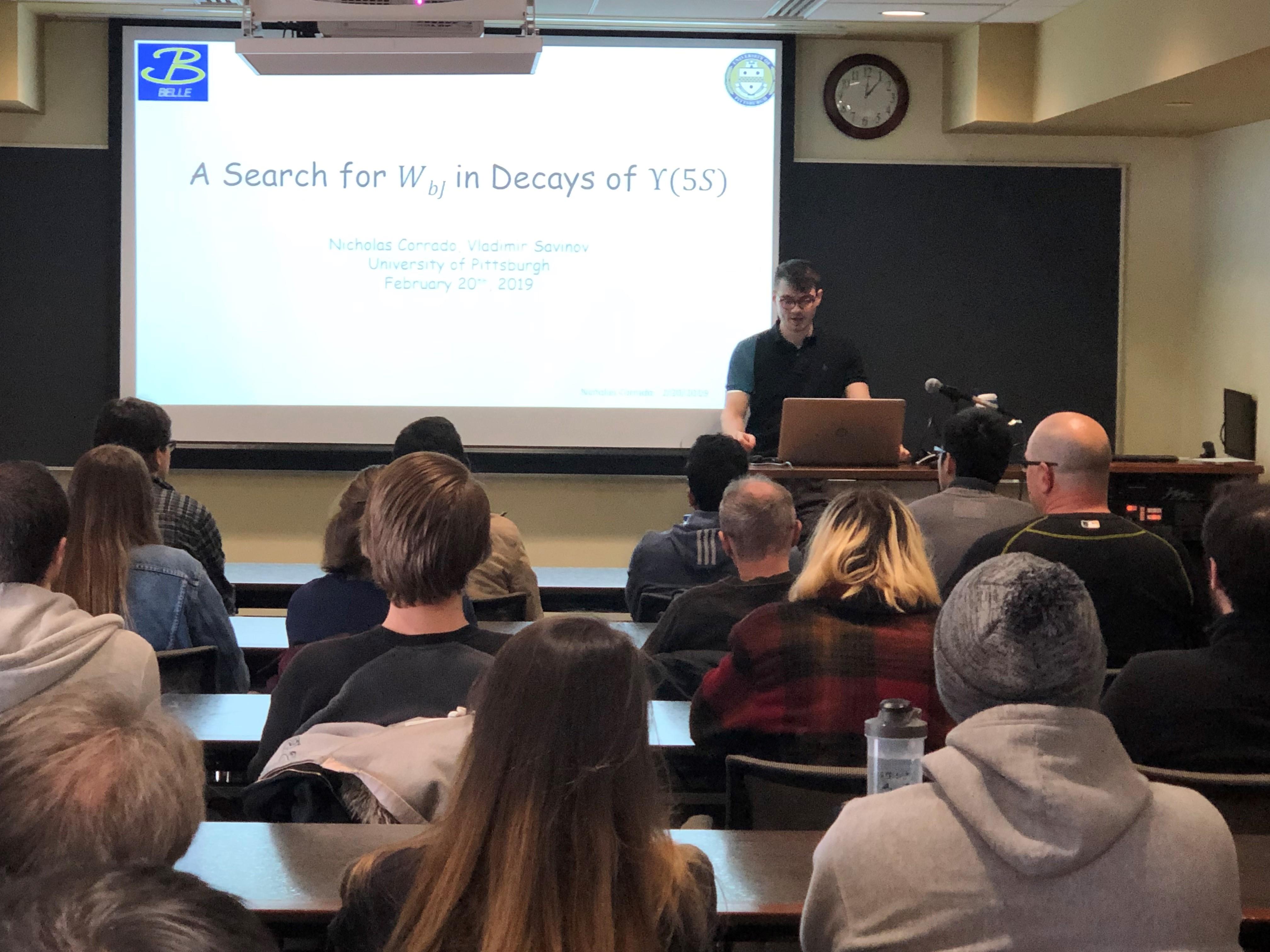 Emil Sanielevici Lecture 2019 | Physics & Astronomy | University of